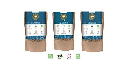 3 x CHIABATTA BROTBACKMISCHUNG (750g) von eat Performance    Bio   Paleo   ohne Zuckerzusatz   glutenfrei   laktosefrei   low carb   eiweißreich   superfood   clean eating   Eiweißbrot   Work Out