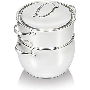 Royalty Line Couscous Topf Marmor Keramik Kuskus 11 Liter Couscouskocher