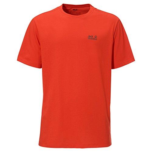 Jack Wolfskin Herren Shirt Essential Function 65 T M bright pumpkin