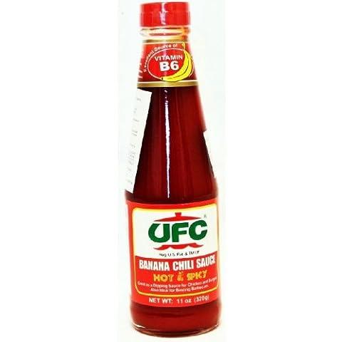 Ufc Hot & Spicy Banana Sauce 320G