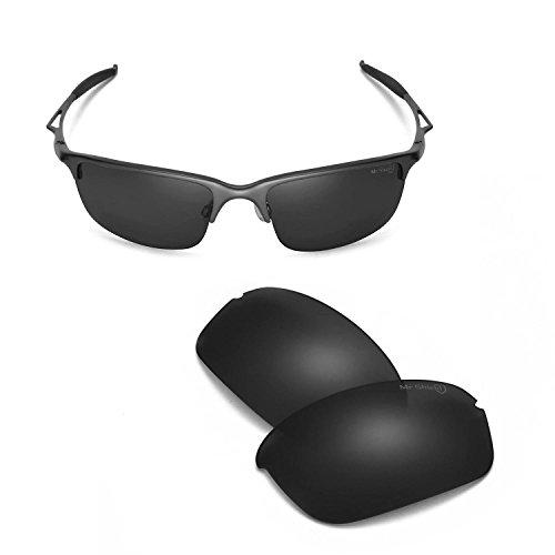 Walleva Ersatzgläser für Oakley Half Wire 2.0 Sonnenbrillen - 13 Optionen erhältlich - Schwarz - Einheitsgröße