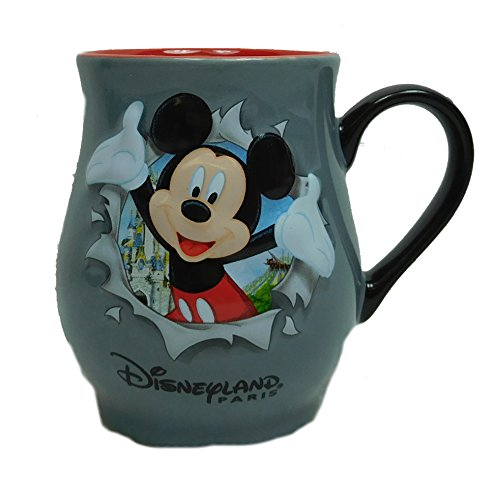 Disney Disneyland Paris Kaffeebecher Minnie Rot