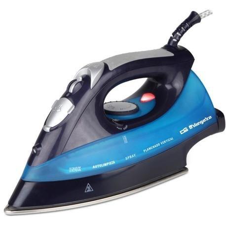 Orbegozo SV 2680 Plancha, 2600 W, Azul y negra