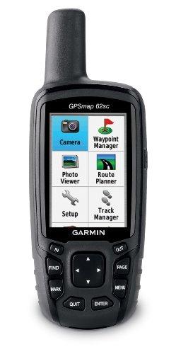 Garmin GPS Gerät Gpsmap 62SC Worldwide, 010-00868-20 (62sc-gps Garmin Gpsmap)
