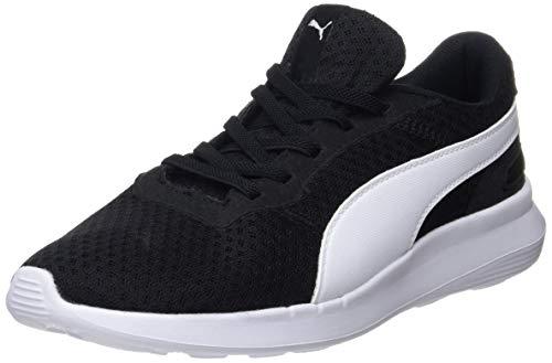 Puma Unisex-Kinder ST Activate AC PS Sneaker, Schwarz (Puma Black-Puma White 01), 29 EU