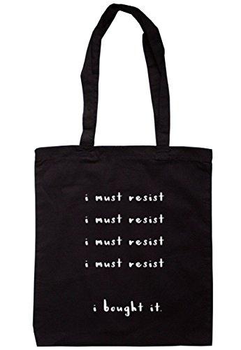 breadandbutterthreads devo Resist deve resistere.. Ho comprato IT. Borsa 37,5cm x 42cm con manici lunghi Black