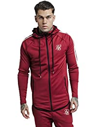 Siksilk Tech Athlete Zip Through Sudadera Hombre