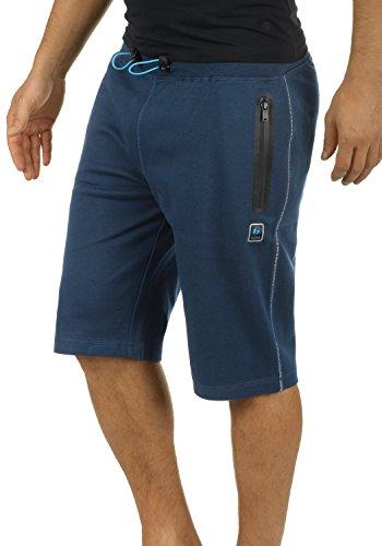 BLEND ATHLETICS Luco Herren Sweat-Shorts Kurze Hose Bermuda-Shorts aus hochwertiger Baumwollmischung Meliert, Größe:M, Farbe:Navy (70230)