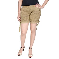 Soundarya Womens Regular Fit Pants (HP6, Khaki)