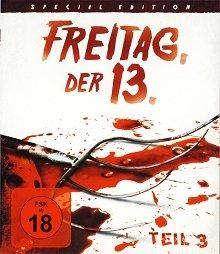 Freitag der 13 - Teil 3 - Limited Uncut Edition (Deutsche Auflage - Und wieder ist Freitag der 13.) - Blu-ray