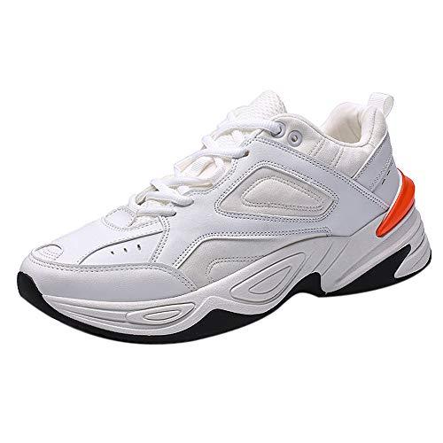Manadlian Wanderschuhe Herren, Low Top Männer Laufschuhe Draussen Gemütlich Turnschuhe Sport Trekkingschuhe Kletterschuhe Atmungsaktive Rutschfeste Turnschuhe Freizeit Sneakers