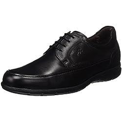 Fluchos- retail ES Spain Luca, Zapatos de Cordones Derby para Hombre, Negro (Black),