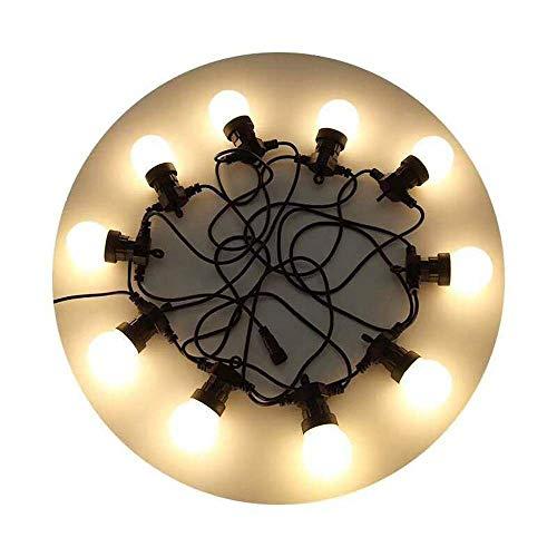 Nuobaby String Licht Weihnachten Hochzeit Party Glühbirne Globe Lichterkette Led Lichterkette Wasserdichte Hochzeitsdekoration Im Freien (Globe-string-lichter Im Freien)