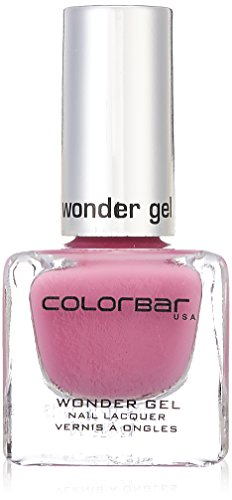 Colorbar CWG009 Wonder Gel Nail Lacquer, Pink, 12ml