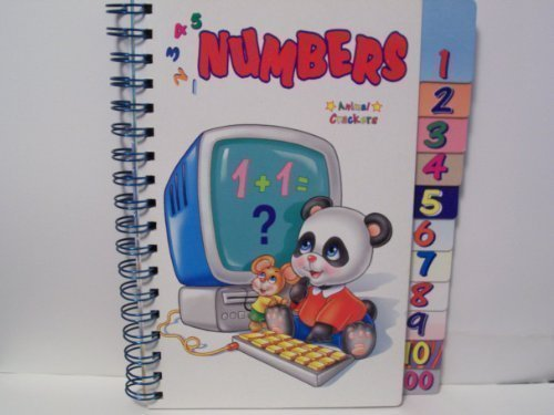 Animal Crackers 4 Book Set (Numbers, Colors, Shapes, Alphabet Soup) (Animal Crackers) by Books Are Fun (2005-01-01)