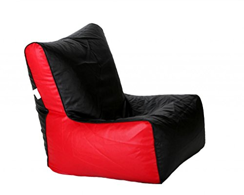 Comfy BeanBags AmEXLCHBLK&RD Chair Black Red Without Fillers X-Large(Black:Red)  available at amazon for Rs.399