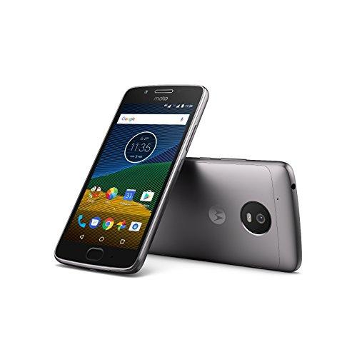 Moto G 5ª Generación Smartphone libre Android 7 (pantalla de 5 Full HD 4G cámara de 13 MP 3 GB de RAM 16 GB Qualcomm Snapdragon 1.4 GHz) color gris