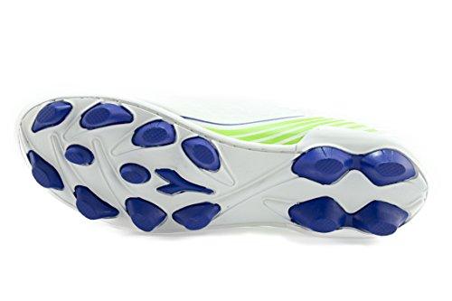 Diadora , Herren Fußballschuhe Bianco/BluOltremare 39 EU Bianco/BluOltremare