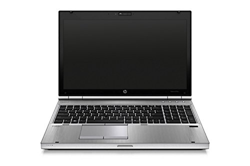 HP Elitebook 8570p 39,624 cm (15,6 Zoll HD) Laptop (Intel Core i5, 6GB, 320GB, Intel HD 4000, Bluetooth, Windows 10 Home ) silber (Zertifiziert und Generalüberholt)