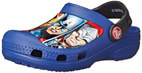 Crocs Cc Marvel Avengers III, Sabots garçon - Bleu (Cerulean Blue) - 22-24