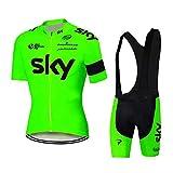 1f9727575403 logas Completo Abbigliamento Ciclismo Uomo Estive Magliette Ciclismo  Maniche Corte per MTB