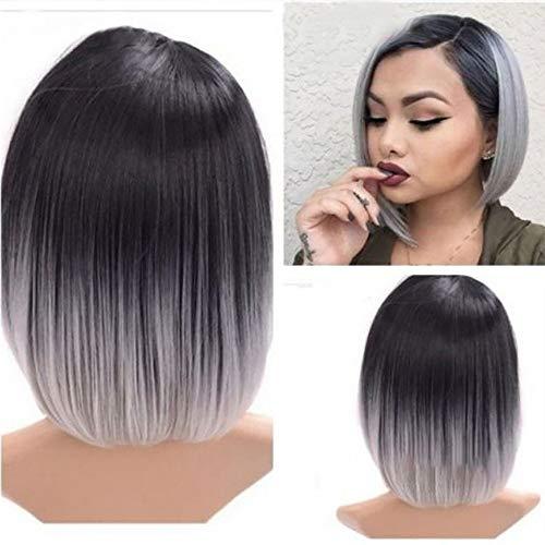 Perruques Cheveux Synthétiques Raides Perruques Complètes Femmes Chaleur Naturelle Offre Spéciale
