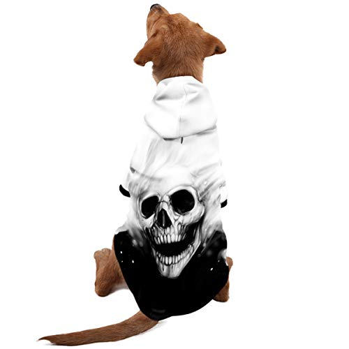 PAWZ Road 3D DREI Dimensionen Hunde Kapuzenpullover Haustier Pullover Jacke Warm Kleider für Klein Mittler Groß Hund