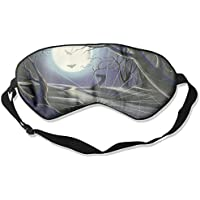 Eye Mask Eyeshade Spider Web Moon Sleep Mask Blindfold Eyepatch Adjustable Head Strap preisvergleich bei billige-tabletten.eu