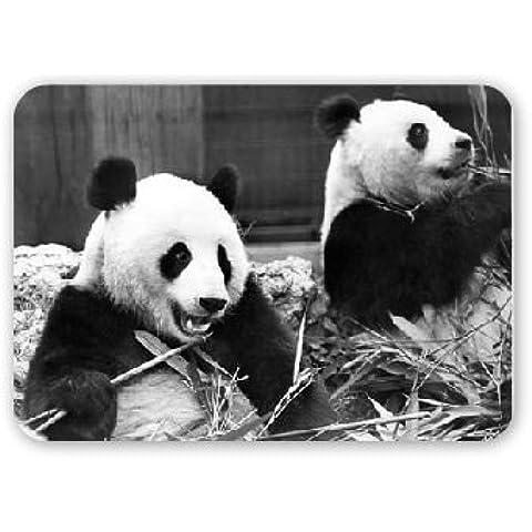 En la parte de Londres panda's gigante Zoo - alfombrilla de ratón Art247 más alto de goma - alfombrilla de ratón