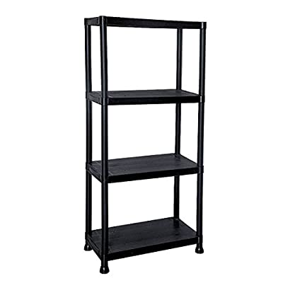 4 Tier Shelving Unit - low-cost UK light store.