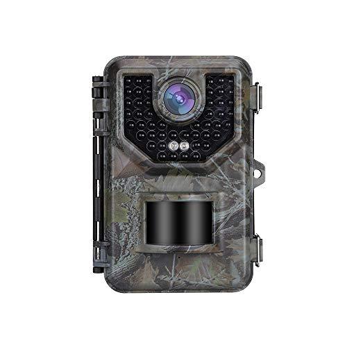 Boblov Full HD 1080P 16MP Beutekameras,Mit 16GB Jagdkamera,0,5S Triggerzeit,IP66 Wasserdicht Wildkamera,Outdoor überwachungskamera,Wasserdichte Nachtsichtkamera