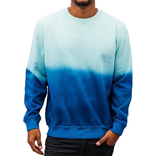 Just Rhyse Two Tone Herren Pullover Blau Blau