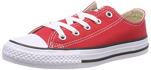 CONVERSE Chuck Taylor All Star Core Ox 015810-21 Unisex - Kinder Sneaker, Rot (Red), 26 EU