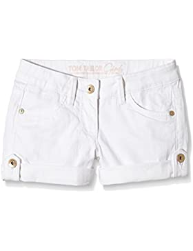 TOM TAILOR Kids Mädchen Short Coloured Denim Shorts