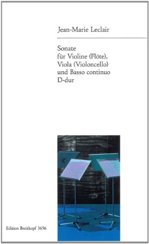 Preisvergleich Produktbild Sonate D-dur für Violine (Flöte), Viola (Cello) und Bc (EB 3656)