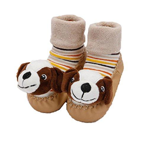 """Ann Sang , Chaussures premiers pas pour bébé (fille) rose F 5.12""""( 9-18 months) E"""