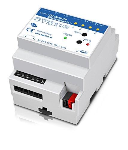 enertex KNX 4Kanal LED Dimmsequenzer 5A REG -