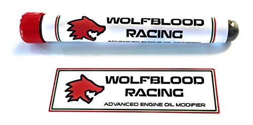 Wolfblood Racing Motor Racing Motor Oil Modifier 99.9% 0.6 Micron APS WS2 Polvere additivo 25 g - Riduttore attrito - Tratta 5 Lit