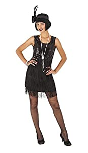 Rubies - Disfraz Charleston para adulto, talla única (Rubie