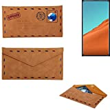 K-S-Trade® Protective Cover Case For Nubia X, Brown.