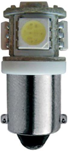 Simoni Racing SR HML22W Ampoule BA9S 5-LED, Blanc, Set de 2