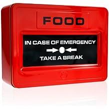 Mustard NG5036 Boîte à Biscuits à Déjeuner -  Take A Break Rouge