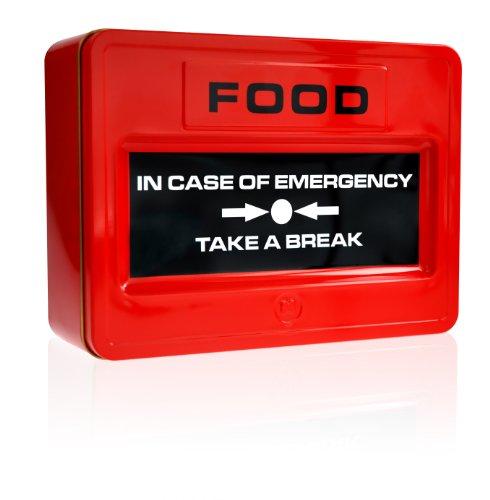 Take A Break Mustard NG 5036 -Fiambrera y caja de galletas en forma de panel de emergencia