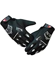 AutoKraftZ Full Finger Bike Glove/Racing Gloves/Driving/Biking/Motorcycle Gloves