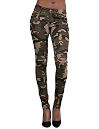 Amazon.fr   Pantalon Militaire Femme   Vêtements 8b1245236a6
