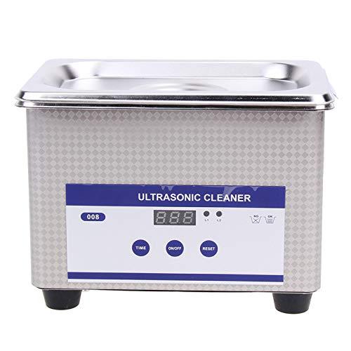 YALTOL Mini Digital Ultrasonic Cleaner 800ml capacità Serbatoio Gioielli