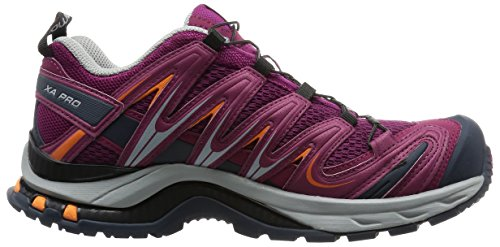 Salomon XA Pro 3D, Chaussures de randonnée femme Violet (Mystic Purple/Light Onix/Orange Fee)