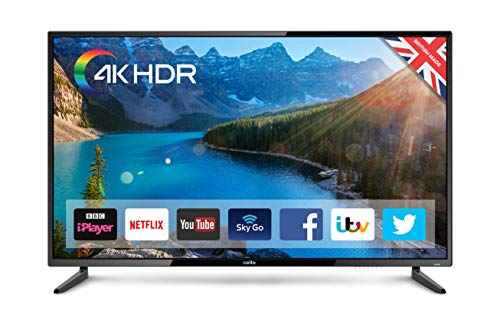 "Cello C55SFS4K 55"" Superfast Smart 4K HDR TV with Wi-Fi and Freeview T2 HD - Manufactured in the UK"