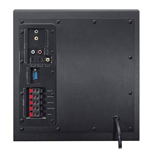 Logitech Z906 3D Stereo Lautsprecher THX (Dolby 5.1 Surround Sound und 500Watt) schwarz - 8