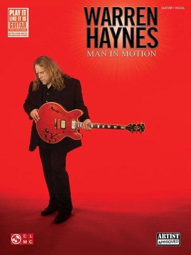 Warren Haynes: Man in Motion (Play It Like It Is Guitar) by Warren Haynes (Creator) � Visit Amazon's Warren Haynes Page search results for this author Warren Haynes (Creator) (1-Nov-2011) - Haynes In Man Warren Motion Von